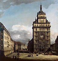 The Kreuzkirche in Dresden, c.1750, bellotto