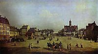 The New Market Square in Dresden, 1750, bellotto
