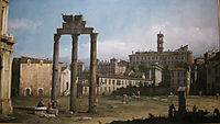 Ruins of the Forum, Rome, bellotto