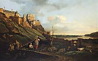 The ruins of Thebes on the River March, 1758, bellotto