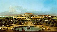 The Schloss Hof, Garden Side, 1758, bellotto