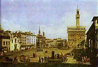Signoria Square in Florence, c.1741, bellotto