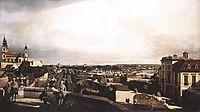 Vienna, Panorama from Palais Kaunitz, c.1759, bellotto