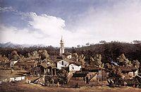 View of Gazzada neVarese, 1744, bellotto