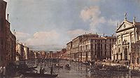 View of the Grand Canal at San Stae, 1738, bellotto