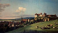 View of Pirna from the Sonnenstein Castle, c.1755, bellotto