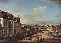 View of the Square of Zelazna Brama, Warsaw, 1779, bellotto