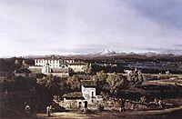 View of the Villa Cagnola at Gazzada neVarese, 1744, bellotto