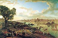 View of Warsaw from Praga, 1770, bellotto