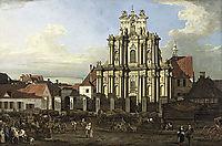 Visitationist Church in Warsaw, 1780, bellotto