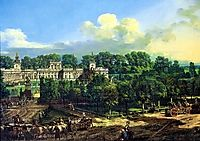 Wilanów Palace seen from the entrance, 1776, bellotto