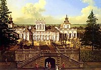 Wilanów Palace seen from the garden, 1776, bellotto