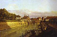 Zwinger Waterway, 1750, bellotto