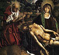 Pietà of Canon Luis Desplá (detail), 1490, bermejo