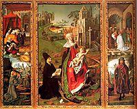Saint Sebastian, 1485, bermejo