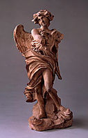 Angel with the Inscription of I.N.R.I., c.1660, bernini