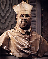 Bust of Cardinal Scipione Borghese, 1630, bernini
