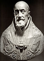 Bust of Pope Gregory XV, 1621, bernini
