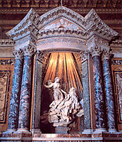 The Ecstasy of St. Teresa, 1652, bernini
