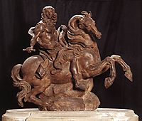Equestrian Statue of King Louis XIV, 1670, bernini