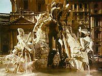 The Four Rivers Fountain, 1651, bernini