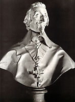 Portrait Bust of Cardinal Richelieu, 1641, bernini