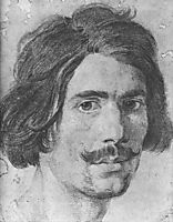 Portrait of a Man with a Moustache (Supposed Self Portrait), c.1630, bernini