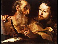 Saint Andrew and Saint Thomas, c.1627, bernini