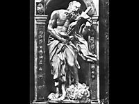 Saint Jerome, 1663, bernini