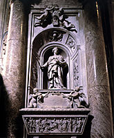 Sepulchre of Matilda the Great Countess , 1633, bernini
