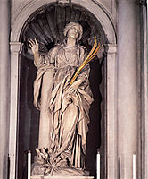 St. Bibiana, 1626, bernini