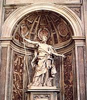 St. Longinus, c.1638, bernini
