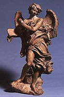 Standing Angel with Scroll, 1668, bernini