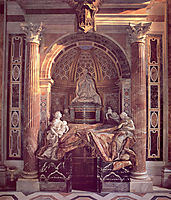Tomb of Pope Alexander VII , 1678, bernini