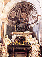 Tomb of Pope Urban VIII, 1647, bernini