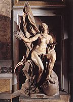Truth Unveiled by Time, c.1652, bernini
