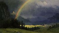 After The Shower, bierstadt