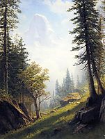 Among the Bernese Alps, bierstadt