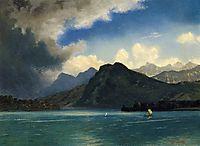 Approaching Storm, bierstadt