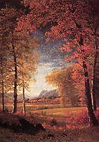 Autumn in America, Oneida County, New York, bierstadt