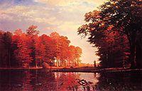 Autumn Woods, 1886, bierstadt