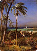 Bahamian View, bierstadt