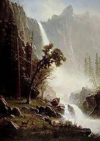 Bridal Veil Falls, Yosemite, c.1871, bierstadt