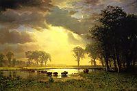 The Buffalo Trail , c.1867, bierstadt