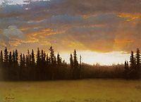 California Sunset, bierstadt