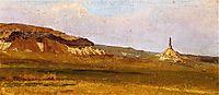 Chimney Rock, 1859, bierstadt