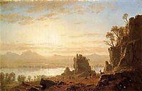 The Columbia River, Oregon, 1862, bierstadt