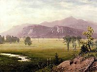 Conway Meadows, New Hampshire, bierstadt