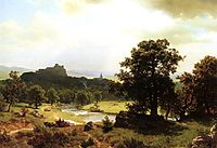 Day-s Beginning, c.1856, bierstadt