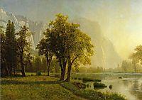 El Capitan, Yosemite Valley, 1875, bierstadt